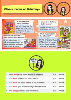 Ficha interactiva Adverbs of Frequency - Listening (page 47) and Game