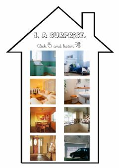 Ficha interactiva The rooms of the house.