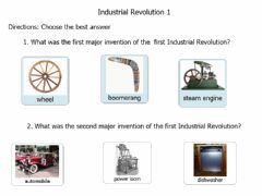Ficha interactiva Industrial revolution
