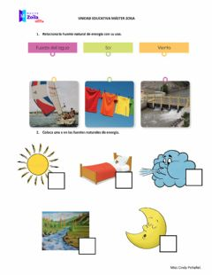 Interactive worksheet Energía renovable
