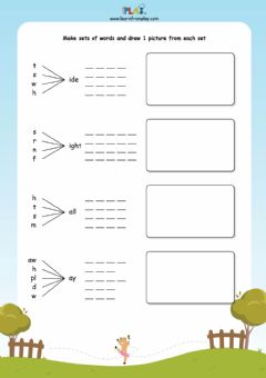 Interactive worksheet Leaping Lola - Word Sets
