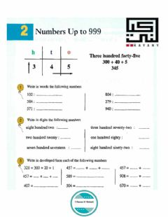 Interactive worksheet Numbers up 9999