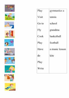 Interactive worksheet AS2 U2 words