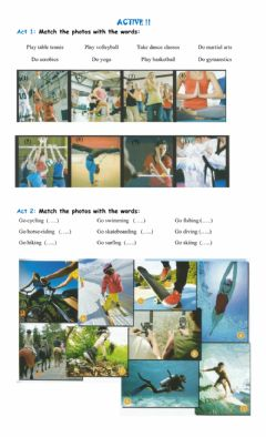 Interactive worksheet Sports-free time