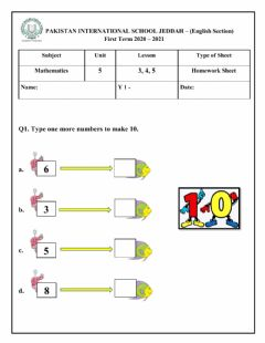 Interactive worksheet Unit-5 , Lesson: 3 ,4 & 5