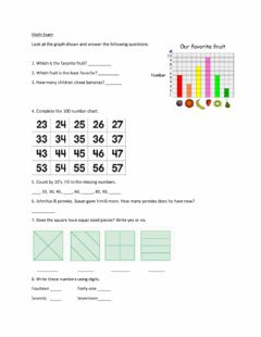 Interactive worksheet Math Exam