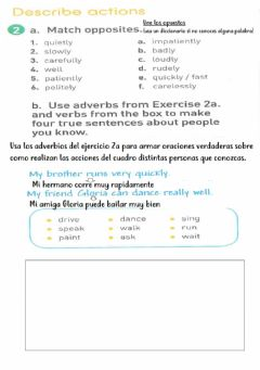 Ficha interactiva Adverbs of manner