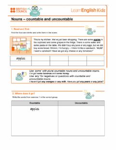 Ficha interactiva 02.countable and uncoutable