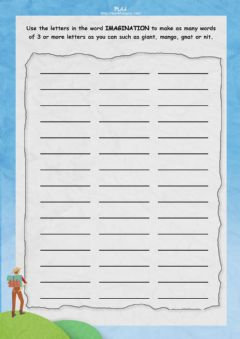 Interactive worksheet You Might Find Yourself - IMAGINATION