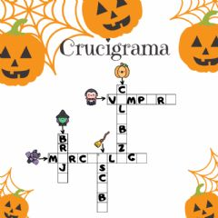 Interactive worksheet Crucigrama halloween