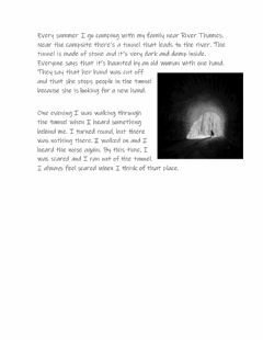 Interactive worksheet Tunnel Story