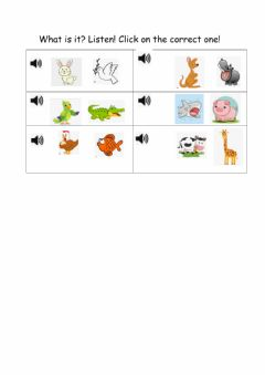 Interactive worksheet Guessing game