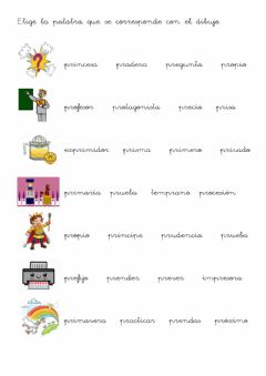 Interactive worksheet Trabadas PR 2