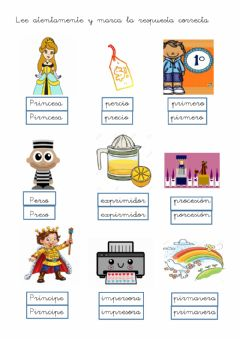 Interactive worksheet Trabadas PR 3