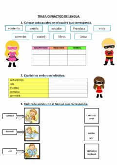 Interactive worksheet Trabajo Práctico