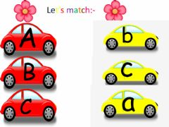 Ficha interactiva Matching letters