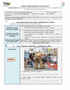 Interactive worksheet Gta 4 ciencias sexto