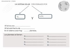 Interactive worksheet Sistema Solar