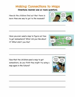 Ficha interactiva Making Connections to Maps