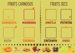 Ficha interactiva Classifica fruits