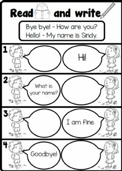 Interactive worksheet 2.2. Friends - Greetings