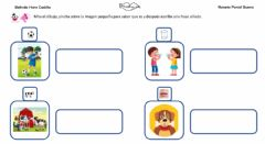 Interactive worksheet Frases con sonido B