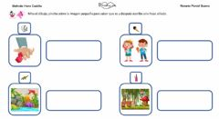 Interactive worksheet Frases con sonido D