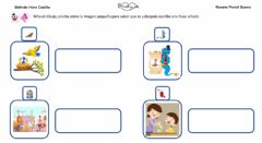 Interactive worksheet Frases con sonido J