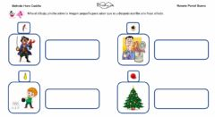 Interactive worksheet Frases con sonido L