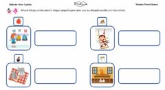 Interactive worksheet Frases con sonido M