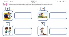 Interactive worksheet Frases con sonido P