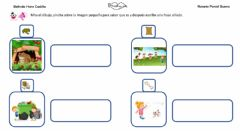 Interactive worksheet Frases con sonido S