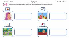 Interactive worksheet Frases con sonido T