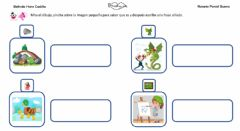 Interactive worksheet Frases con sinfón DR