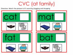 Interactive worksheet Word family