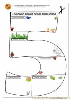 Interactive worksheet Los cinco reinos