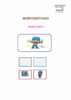 Interactive worksheet Morfosintaxis