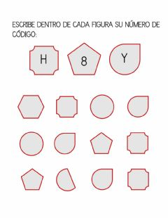 Interactive worksheet Fíjate y completa