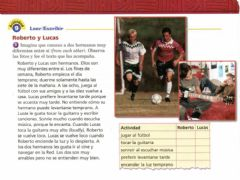 Interactive worksheet Los hermanos - lectura