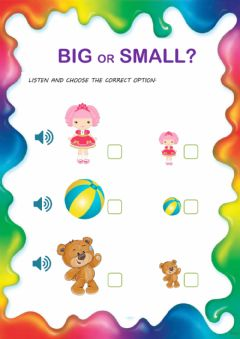Interactive worksheet Big - small