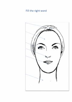 Interactive worksheet Part of face