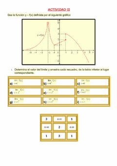Interactive worksheet Limites laterales