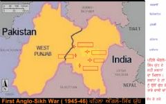 Ficha interactiva First Anglo-Sikh War