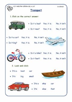 Interactive worksheet Yes, No Questions