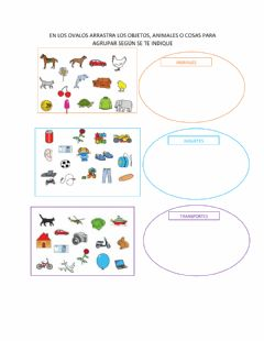 Interactive worksheet Conjuntos