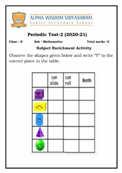 Interactive worksheet Shapes and patterns