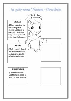 Interactive worksheet La Princesa Teresa