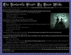 Interactive worksheet The Canterville ghost- 1st part