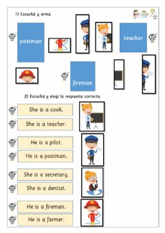 Interactive worksheet EXTRA-1st form