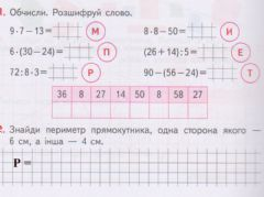 Interactive worksheet Периметр